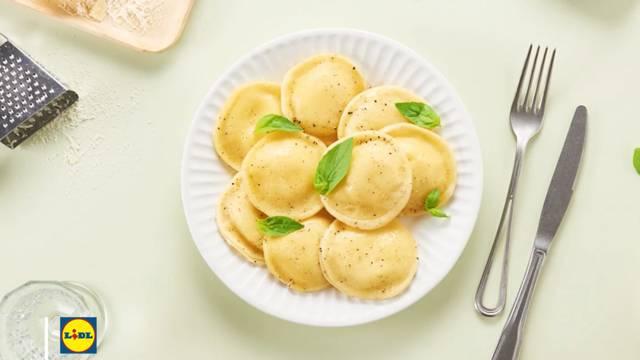 La recette des ravioles aux 3 fromages