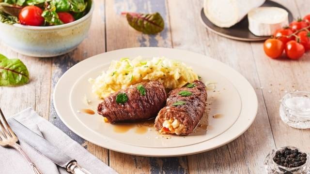 Roulé de steak