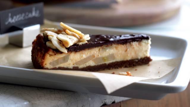 Cheesecake chocolat banane