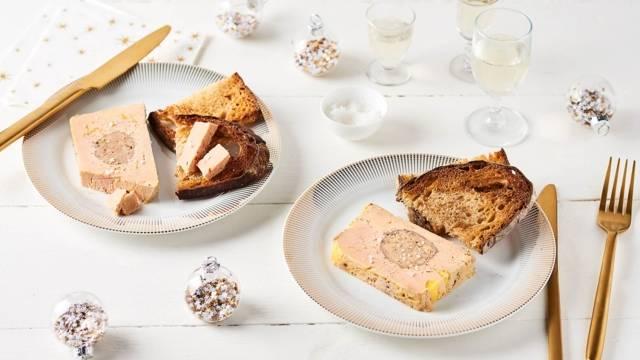 Foie gras maison aux marrons et Cognac