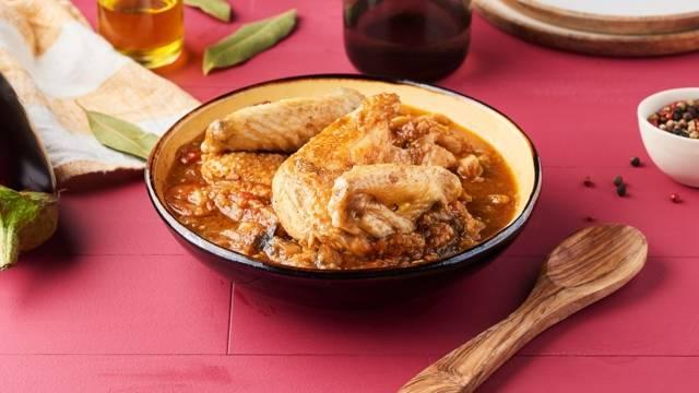 Ragoût de poulet ivoirien - Kedjenou