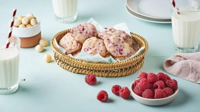 Cookies framboise et citron
