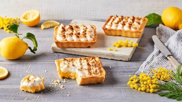 Tartelettes aux citrons meringuées