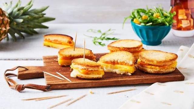 Grilled-cheese hawaïen