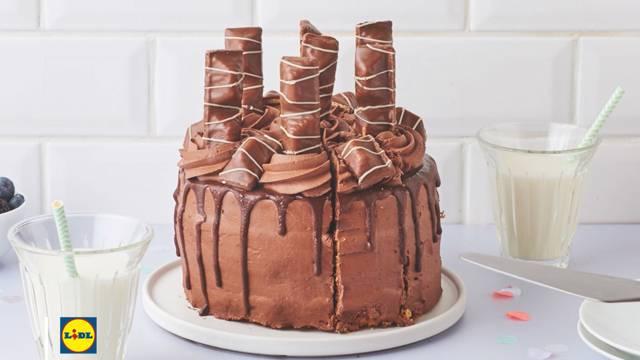 La recette du layer cake choco-vanille