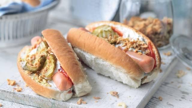Hot dog à la danoise