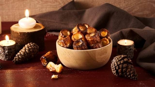 Cannelés aux lardons, Rocamadour et miel