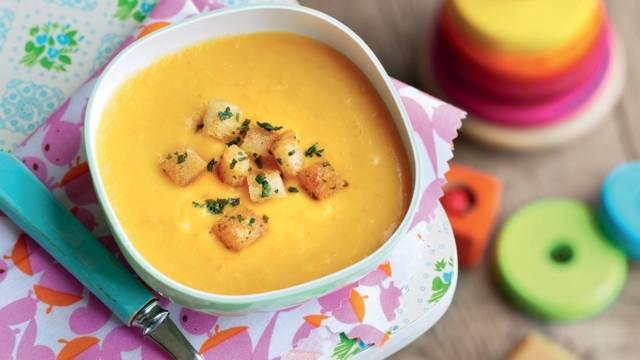 Soupe de carottes et pommes de terre