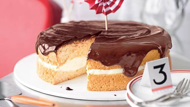 Gâteau Boston