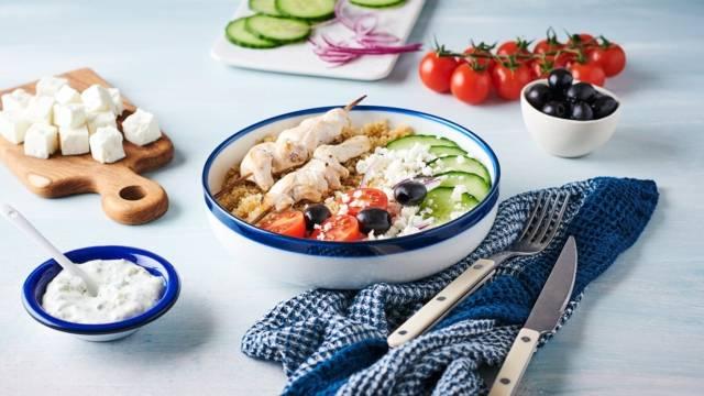 Chicken Tzatziki bowl