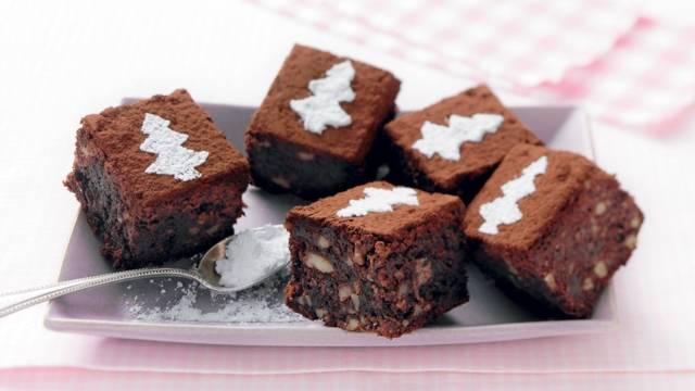 Brownies au chocolat et aux noix