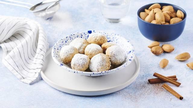 Biscuits à la cannelle grecs | Kourabies