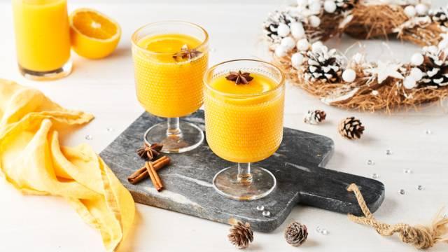 Punch de noël à l'orange