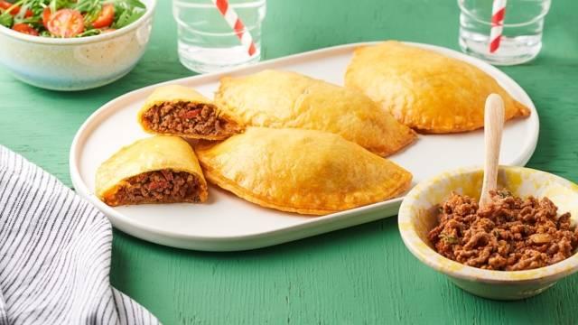 Empanadas au chorizo et tomates séchées