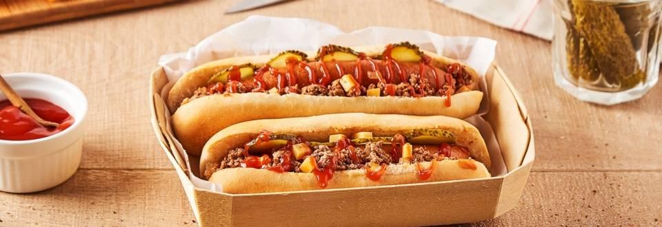 Hot dog à la texane