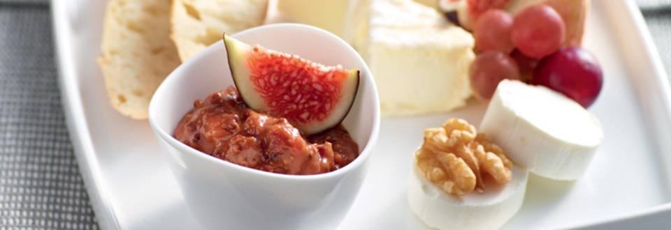 Moutarde aux figues pour plateau fromage