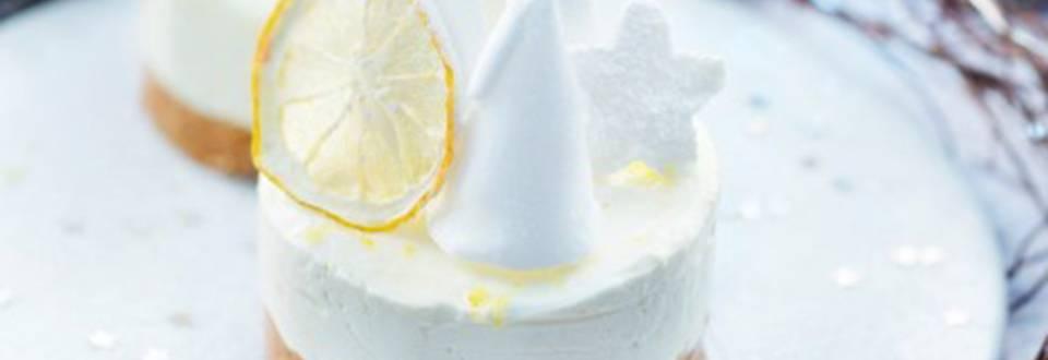 Cheese cake au citron et au chocolat blanc