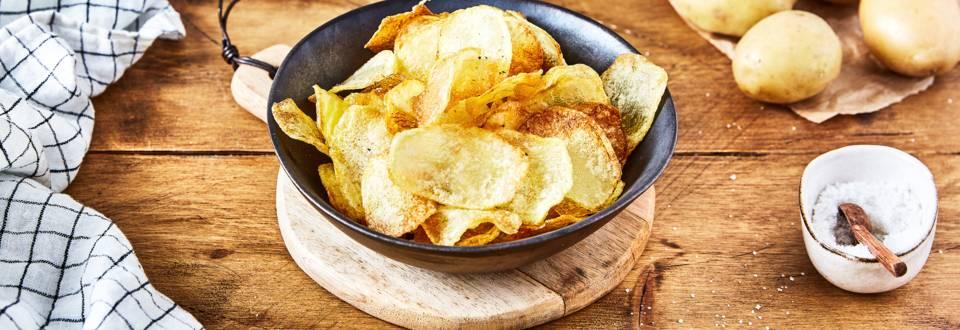 Chips maison au four