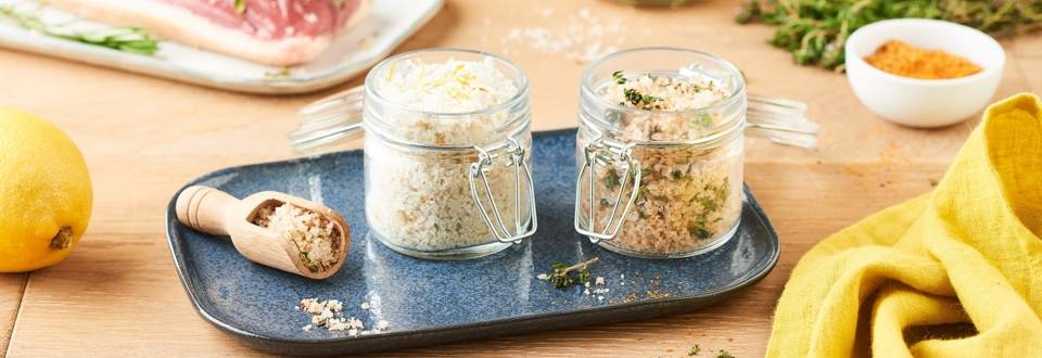 2 recettes DIY : sels aromatisés pour le barbecue