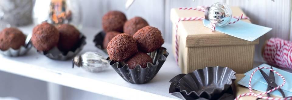 Bouchées de pain d'épices et ananas, enrobées de chocolat
