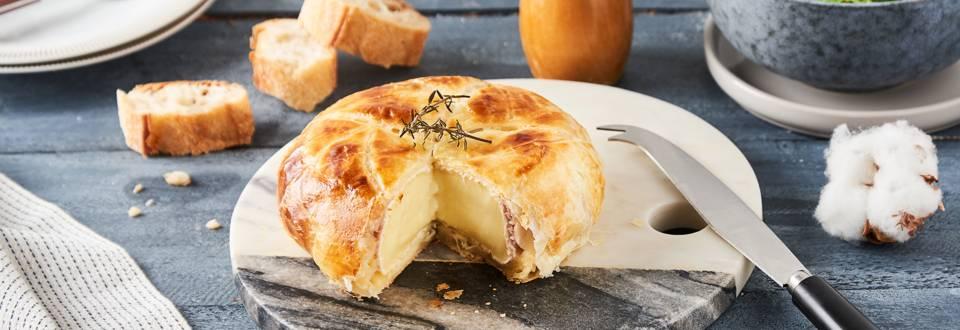 Camembert en croûte