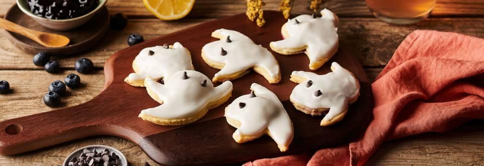Ghosts pop tarts vanille et myrtille