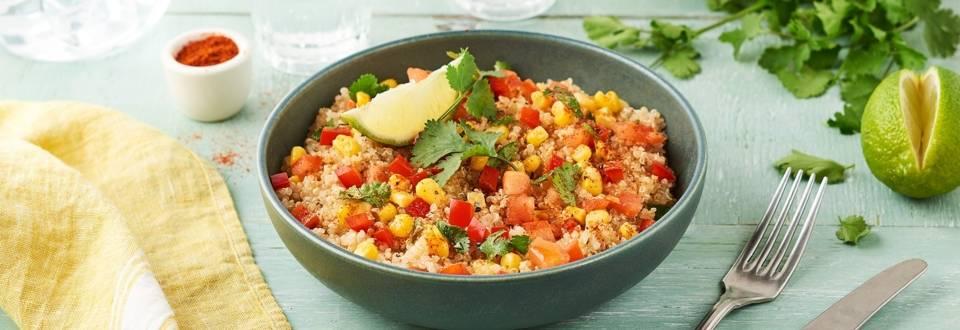 Salade de quinoa pimentée