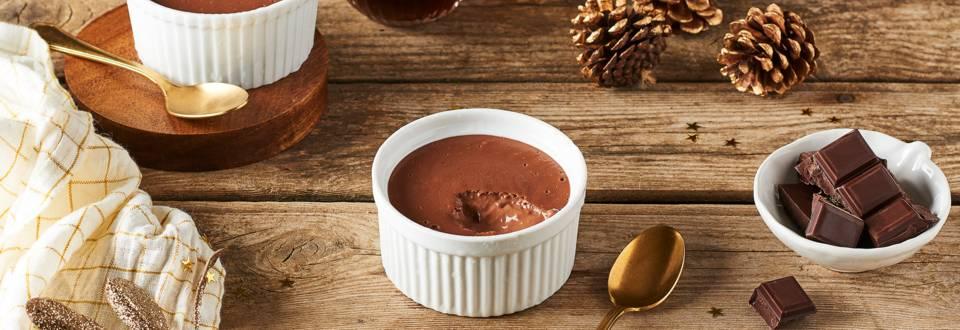 Crème au chocolat maison