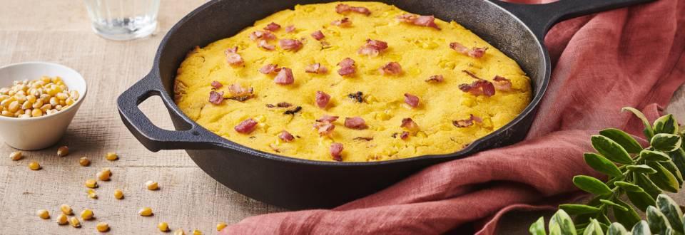 Cornbread bacon et oignon