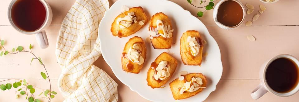 Madeleine façon pain perdu