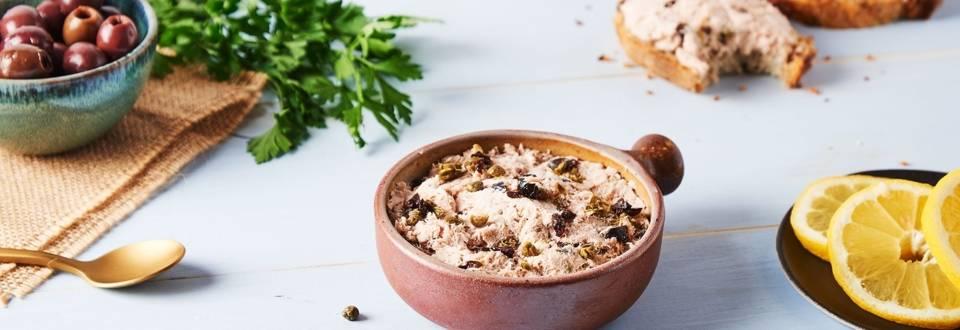Mousse de thon aux olives