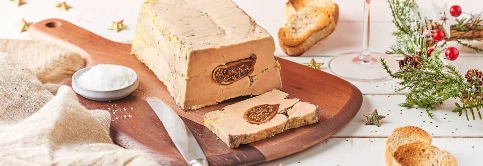 Foie gras maison aux figues