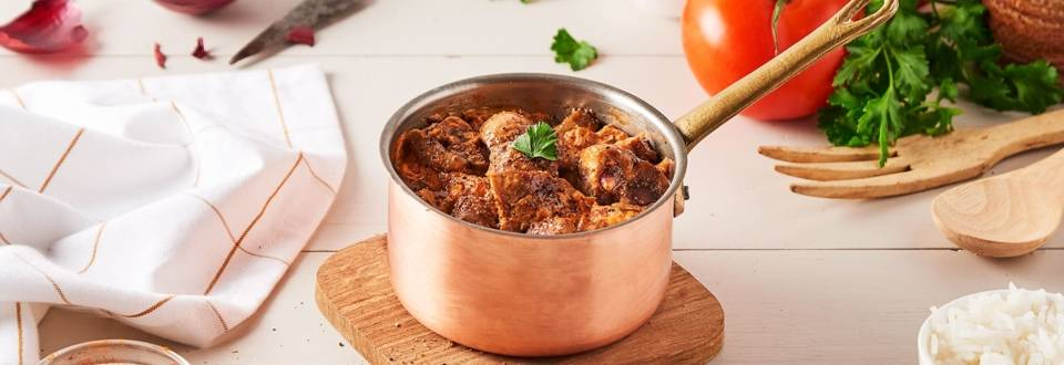 Rognons de veau à la tomate