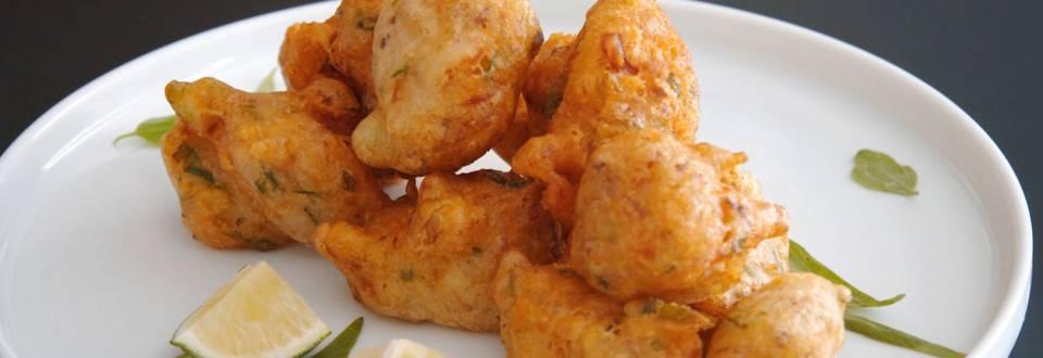 Beignets salés au thon