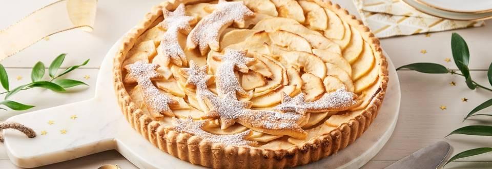 Tarte étoiles filantes aux pommes et Calvados