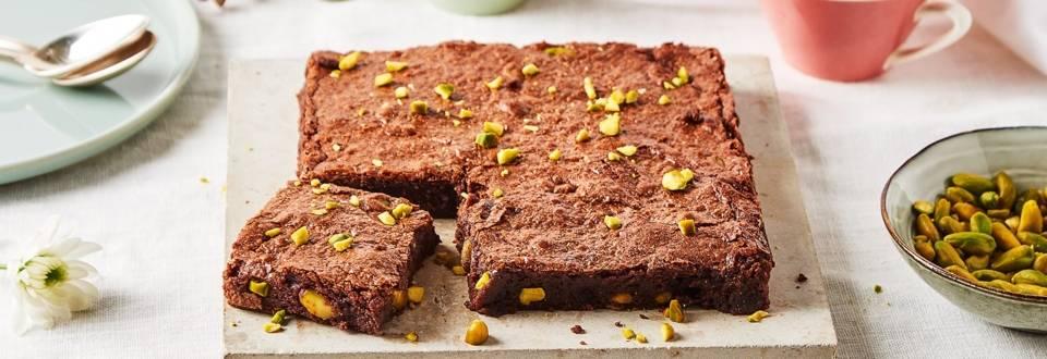 Brownies aux pistaches