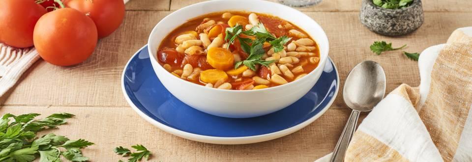Fasoláda (soupe de haricots blancs)