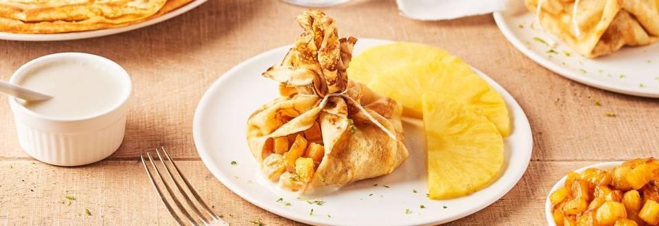 Aumônière ananas-coco