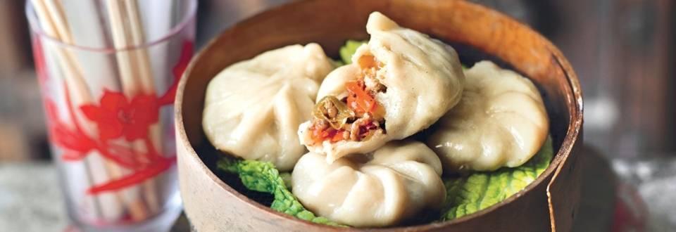 Raviolis chinois à la viande (Dim sum)