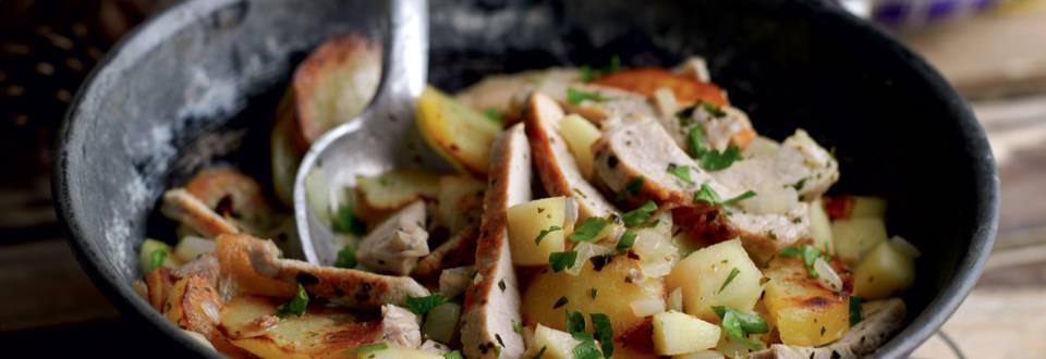 Poêlée de pommes de terre à la tyrolienne (Gröstl)