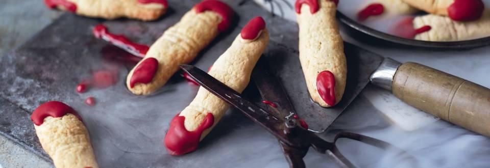 Doigts de sorcière (biscuits aux amandes)