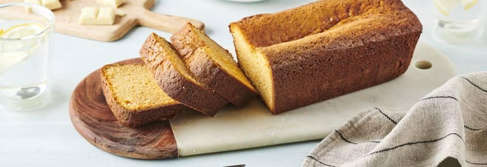 Cake chocolat blanc