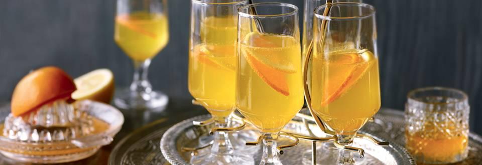 Cocktail à la mandarine et au gingembre