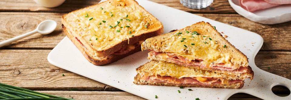 Croque-monsieur bacon