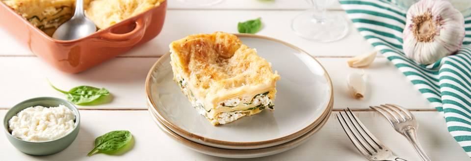 Lasagnes ricotta et épinards