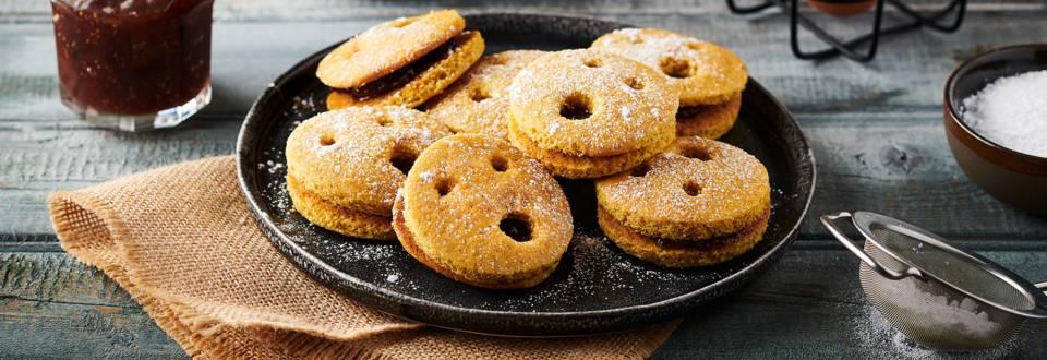 Sandwich cookies au potiron