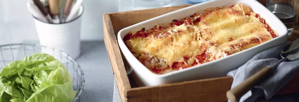 Cannelloni végétariens à la ricotta