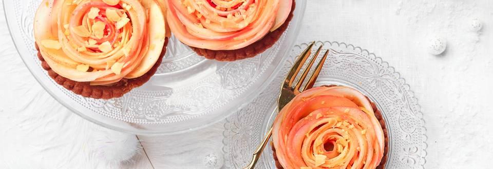 Roses pommes amandine