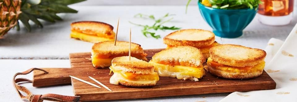 Grilled-cheese hawaïen