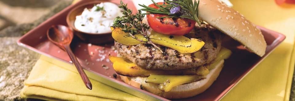 Burger méditerranéen